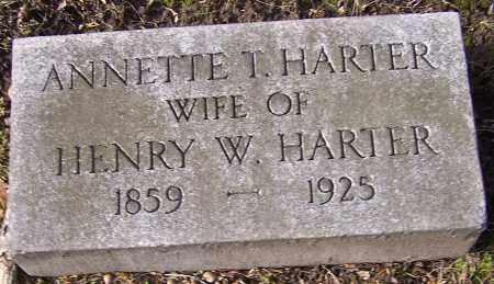 HARTER, ANNETTE T. - Stark County, Ohio | ANNETTE T. HARTER - Ohio Gravestone Photos
