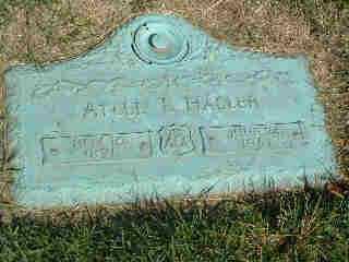 HASLER, ATLEE LEO - Stark County, Ohio | ATLEE LEO HASLER - Ohio Gravestone Photos