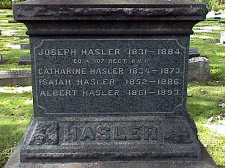 HASLER, ALBERT GEORGE - Stark County, Ohio | ALBERT GEORGE HASLER - Ohio Gravestone Photos