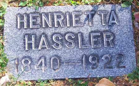 HASSLER, HENRIETTA - Stark County, Ohio | HENRIETTA HASSLER - Ohio Gravestone Photos