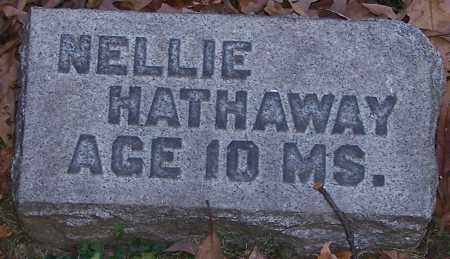 HATHAWAY, NELLIE - Stark County, Ohio | NELLIE HATHAWAY - Ohio Gravestone Photos