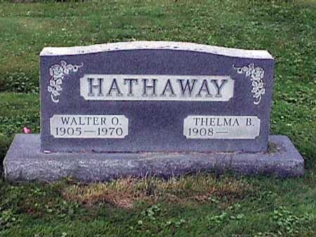 HATHAWAY, WALTER OWEN - Stark County, Ohio | WALTER OWEN HATHAWAY - Ohio Gravestone Photos