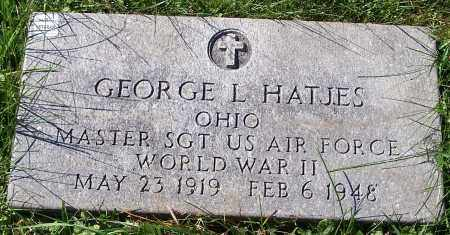 HATJES, GEORGE L. - Stark County, Ohio | GEORGE L. HATJES - Ohio Gravestone Photos