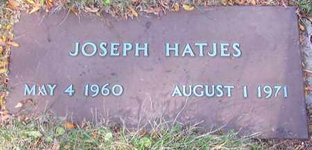 HATJES, JOSEPH - Stark County, Ohio | JOSEPH HATJES - Ohio Gravestone Photos