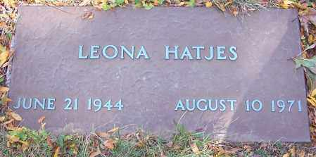 HATJES, LEONA - Stark County, Ohio | LEONA HATJES - Ohio Gravestone Photos