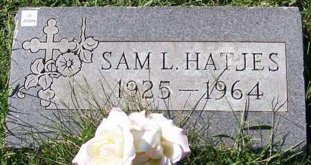 HATJES, SAM L. - Stark County, Ohio | SAM L. HATJES - Ohio Gravestone Photos