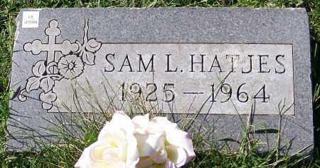 HATJES, SAM L. - Stark County, Ohio   SAM L. HATJES - Ohio Gravestone Photos