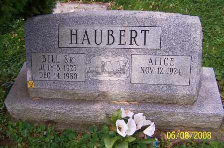 HAUBERT, ALICE - Stark County, Ohio | ALICE HAUBERT - Ohio Gravestone Photos