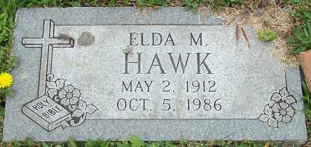 HAWK, ELDA M. - Stark County, Ohio | ELDA M. HAWK - Ohio Gravestone Photos