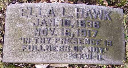 HAWK, ELLA L. - Stark County, Ohio | ELLA L. HAWK - Ohio Gravestone Photos