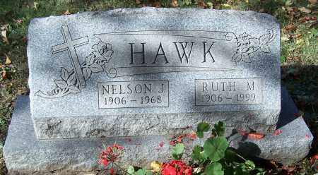 HAWK, NELSON J. - Stark County, Ohio | NELSON J. HAWK - Ohio Gravestone Photos