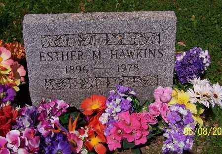 HAWKINS, ESTHER M. - Stark County, Ohio | ESTHER M. HAWKINS - Ohio Gravestone Photos