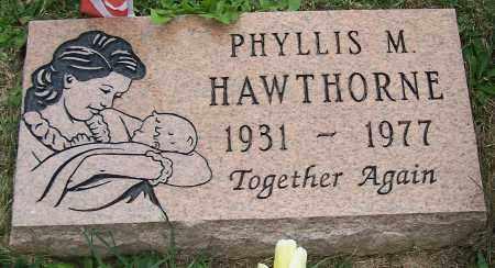 HAWTHORNE, PHYLLIS M. - Stark County, Ohio | PHYLLIS M. HAWTHORNE - Ohio Gravestone Photos