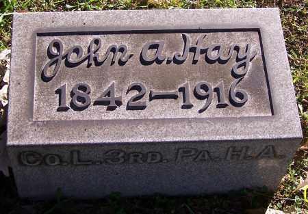 HAY, JOHN A. - Stark County, Ohio | JOHN A. HAY - Ohio Gravestone Photos