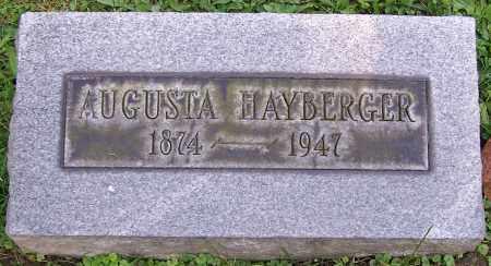HAYBERGER, AUGUSTA - Stark County, Ohio | AUGUSTA HAYBERGER - Ohio Gravestone Photos