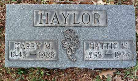 HAYLOR, HATTIE M - Stark County, Ohio | HATTIE M HAYLOR - Ohio Gravestone Photos