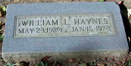 HAYNES, WILLIAM L. - Stark County, Ohio | WILLIAM L. HAYNES - Ohio Gravestone Photos