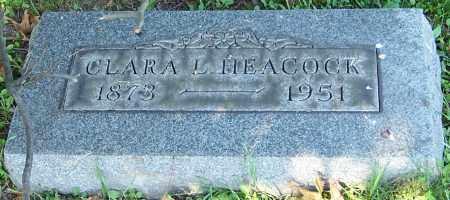 HEACOCK, CLARA L. - Stark County, Ohio | CLARA L. HEACOCK - Ohio Gravestone Photos
