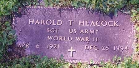 HEACOCK, HAROLD T. - Stark County, Ohio | HAROLD T. HEACOCK - Ohio Gravestone Photos