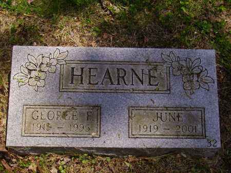 HEARNE, GEORGE F. - Stark County, Ohio | GEORGE F. HEARNE - Ohio Gravestone Photos