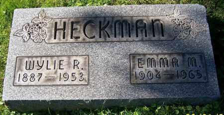 HECKMAN, EMMA M. - Stark County, Ohio | EMMA M. HECKMAN - Ohio Gravestone Photos