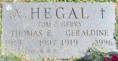 HEGAL, GERALDINE - Stark County, Ohio | GERALDINE HEGAL - Ohio Gravestone Photos
