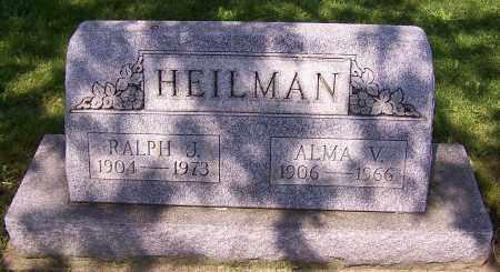 HEILMAN, RALPH J. - Stark County, Ohio | RALPH J. HEILMAN - Ohio Gravestone Photos