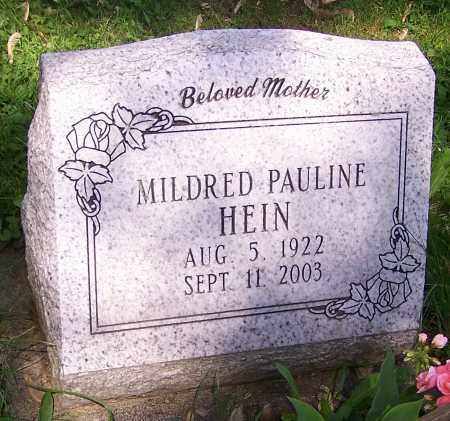 HEIN, MILDRED PAULINE - Stark County, Ohio | MILDRED PAULINE HEIN - Ohio Gravestone Photos
