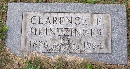 HEINTZINGER, CLARENCE E. - Stark County, Ohio | CLARENCE E. HEINTZINGER - Ohio Gravestone Photos
