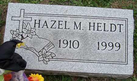 HELDT, HAZEL M. - Stark County, Ohio   HAZEL M. HELDT - Ohio Gravestone Photos