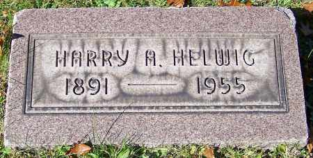 HELWIG, HARRY A. - Stark County, Ohio | HARRY A. HELWIG - Ohio Gravestone Photos