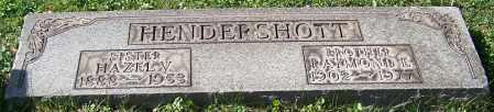 HENDERSHOTT, RAYMOND E. - Stark County, Ohio | RAYMOND E. HENDERSHOTT - Ohio Gravestone Photos