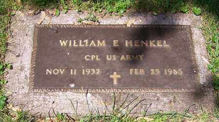 HENKEL, WILLIAM E.  (MIL) - Stark County, Ohio | WILLIAM E.  (MIL) HENKEL - Ohio Gravestone Photos