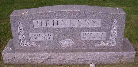 HENNESSY, JAMES G. - Stark County, Ohio | JAMES G. HENNESSY - Ohio Gravestone Photos