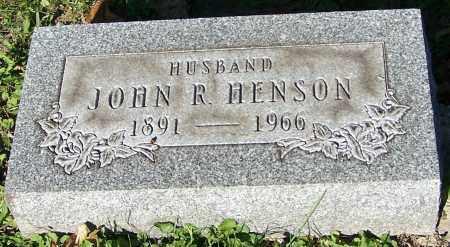 HENSON, JOHN R. - Stark County, Ohio | JOHN R. HENSON - Ohio Gravestone Photos