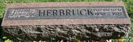 HERBRUCK, ELIZABETH M. - Stark County, Ohio | ELIZABETH M. HERBRUCK - Ohio Gravestone Photos