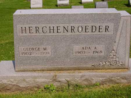 HERCHENROEDER, GEORGE M. - Stark County, Ohio | GEORGE M. HERCHENROEDER - Ohio Gravestone Photos