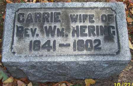 HERING, CARRIE - Stark County, Ohio | CARRIE HERING - Ohio Gravestone Photos