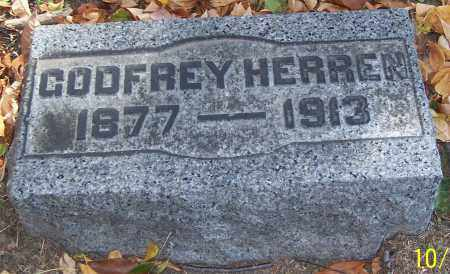 HERREN, GODFREY - Stark County, Ohio | GODFREY HERREN - Ohio Gravestone Photos