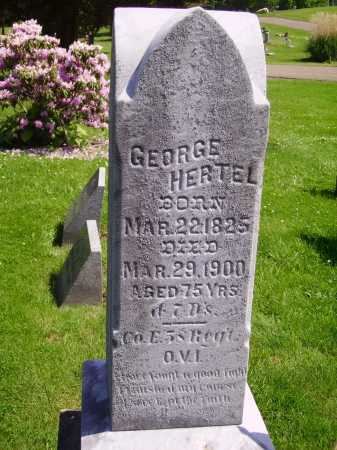 HERTEL, GEORGE - Stark County, Ohio | GEORGE HERTEL - Ohio Gravestone Photos