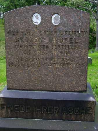 HERTEL, GEORGE - FRONT VIEW - Stark County, Ohio | GEORGE - FRONT VIEW HERTEL - Ohio Gravestone Photos