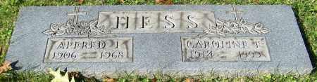 HESS, CAROLINE F. - Stark County, Ohio | CAROLINE F. HESS - Ohio Gravestone Photos