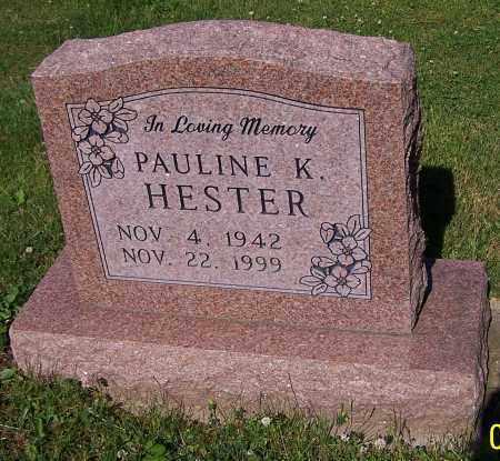 HESTER, PAULINE K. - Stark County, Ohio | PAULINE K. HESTER - Ohio Gravestone Photos