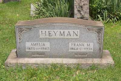 HEYMAN, FRANK M. - Stark County, Ohio | FRANK M. HEYMAN - Ohio Gravestone Photos