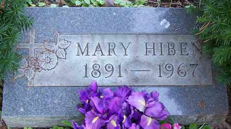 HIBEN, MARY - Stark County, Ohio | MARY HIBEN - Ohio Gravestone Photos