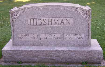 HIBSHMAN, GILBERT W. - Stark County, Ohio | GILBERT W. HIBSHMAN - Ohio Gravestone Photos