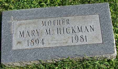 HICKMAN, MARY M. - Stark County, Ohio | MARY M. HICKMAN - Ohio Gravestone Photos