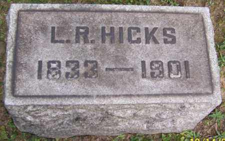 HICKS, L.R. - Stark County, Ohio | L.R. HICKS - Ohio Gravestone Photos