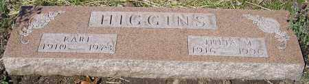 HIGGINS, EARL - Stark County, Ohio | EARL HIGGINS - Ohio Gravestone Photos