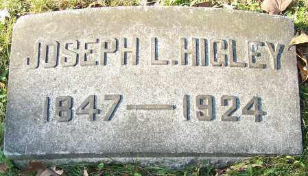 HIGLEY, JOSEPH L. - Stark County, Ohio | JOSEPH L. HIGLEY - Ohio Gravestone Photos